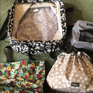 4 bags lot thirty one bags used bags